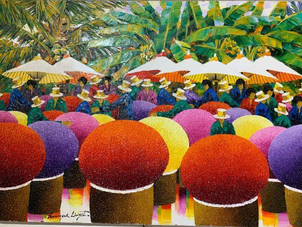 the Flower Market by Amorsak